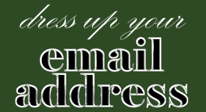 Dress-Up-Your-eMail-Address