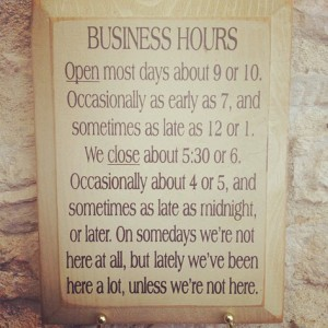 Business Hours by ChunkySalsa